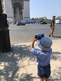 sahil taking photo
