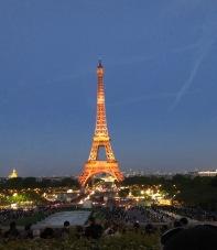 Eiffel at night 4