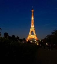 Eiffel at night 3