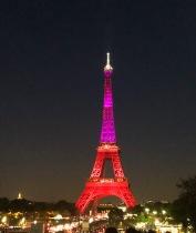 Eiffel at night 2